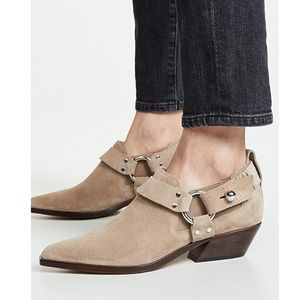 New rag and bone Westin Harness ankle booties 37
